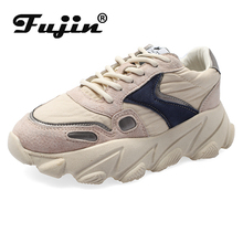Fujin sneakers women 2019 New Chunky Sneakers Vulcanize Shoes Casual Fashion Dad Platform Basket Femme Krasovki