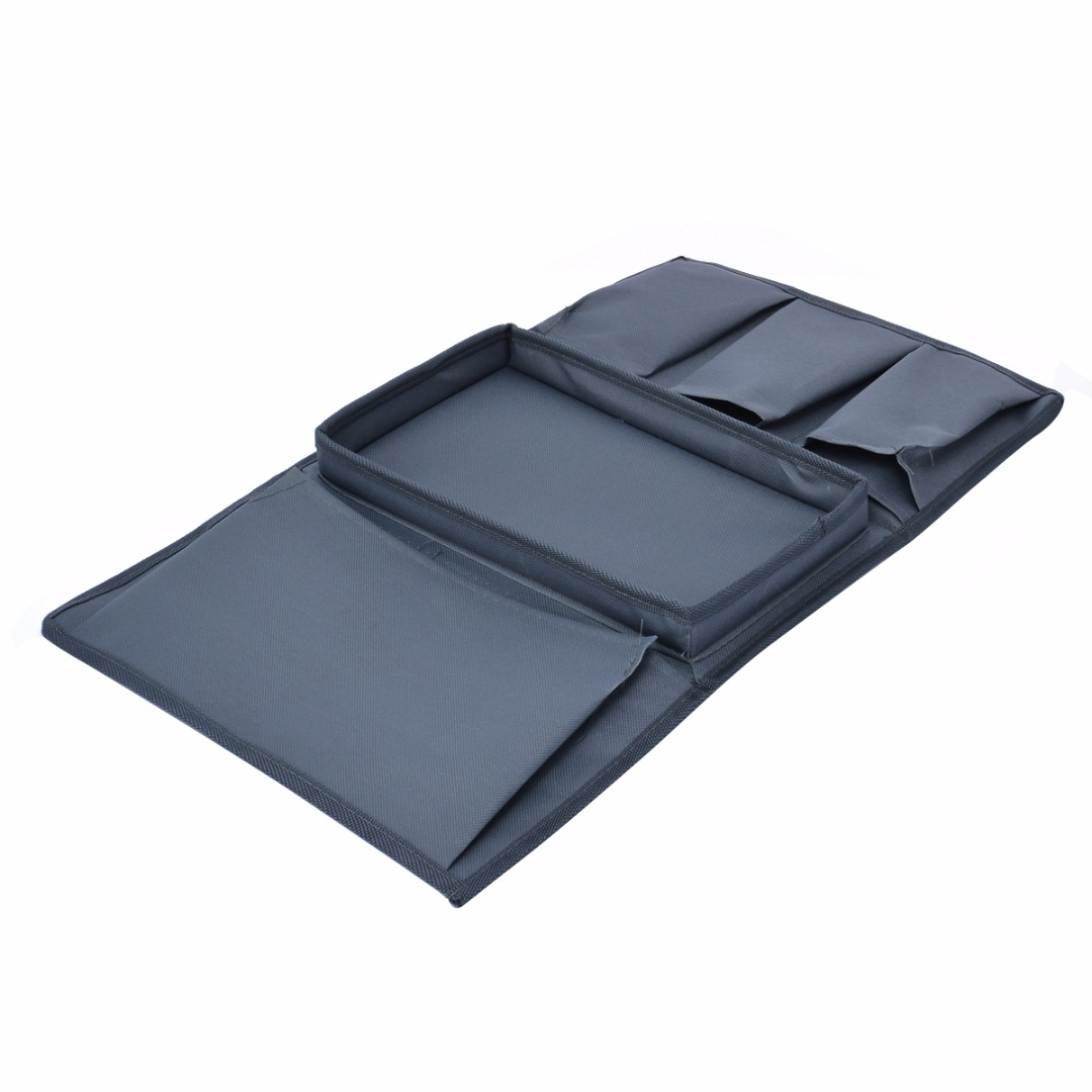 Practical 4 Pockets Sofa Arm Storage Bag Chair Couch Mobile Phones Magazine Storage Bags Tray Home Holder Organizer Mayitr Hot
