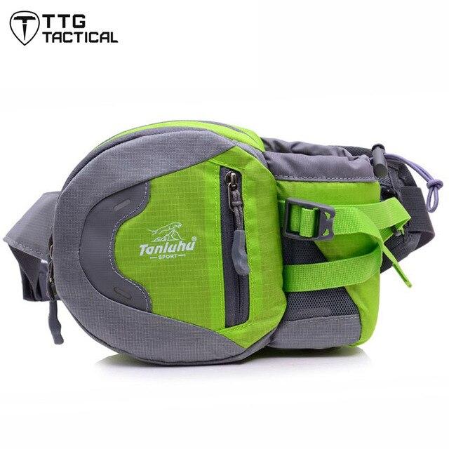 Multi-bolsillo Botella de Agua Bolsa de Cintura Unisex Utility Cintura Bolsa Impermeable Paquete de La Cintura Portable
