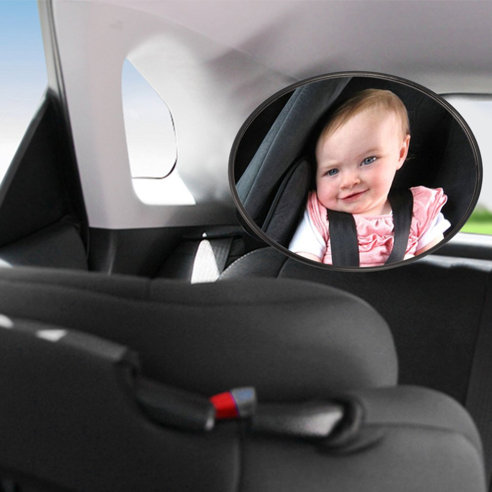172mm Car Baby Safety Mirror Back Seat Mirror Rear View Baby Mirror Car Interior Baby Kids Monitor Car Accessories