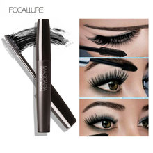 FOCALLURE Mascara Long Curling Eyelash Black Mascara Black Lash Eyelash Extension Waterproof Eye Makeup купить недорого в Москве