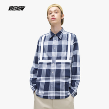 Viishow Streetwear Plaid Men Shirt Brand Cotton Mens With Long Sleeves 2019 New Camisa Masculina Hombre CC1182191