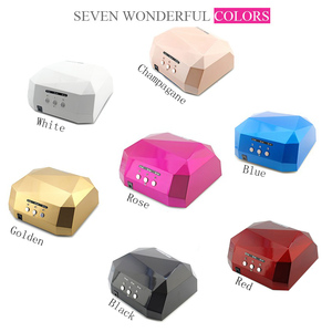 Image 4 - 36W LED CCFL UV Nail Dryer Diamond Shape Curing Lamp Machine For UV Gel Nail Polish