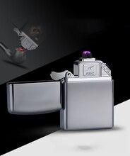 Plasma Lighter USB Double ARC Electric Zinc Alloy Can engrave Logo Cigarette Lighter