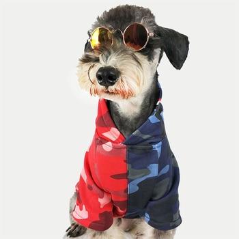 Squalo Camo Vestiti Del Cane per Cani di Piccola Taglia Francese Bulldog Cotone Felpe Chihuahua Estate Giacca Pug Cappotto Marea di Marca Costume PC0487