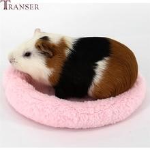 Трансер питомец зима мягкий флис морская свинка кровать малая клетка для животных мини-коврик хомяк крыса кровать 80104