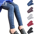 Retail 3-10years leggings fashion lace thickened velvet cotton children Kids infant Baby for spring autumn fall winter