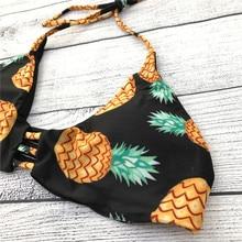 2019 New Adjustable Chest Strappy Bikini Push Up Women Swimsuits Low Waist Brazilian Halter Swimwear Bathing Suits Biqunis