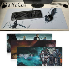 MaiYaCa Non Slip PC Final Fantasy VII mouse pad gamer play mats Anti-slip Locking Keyboard Pad Desk Mat Large Gaming Mouse Pad(China)