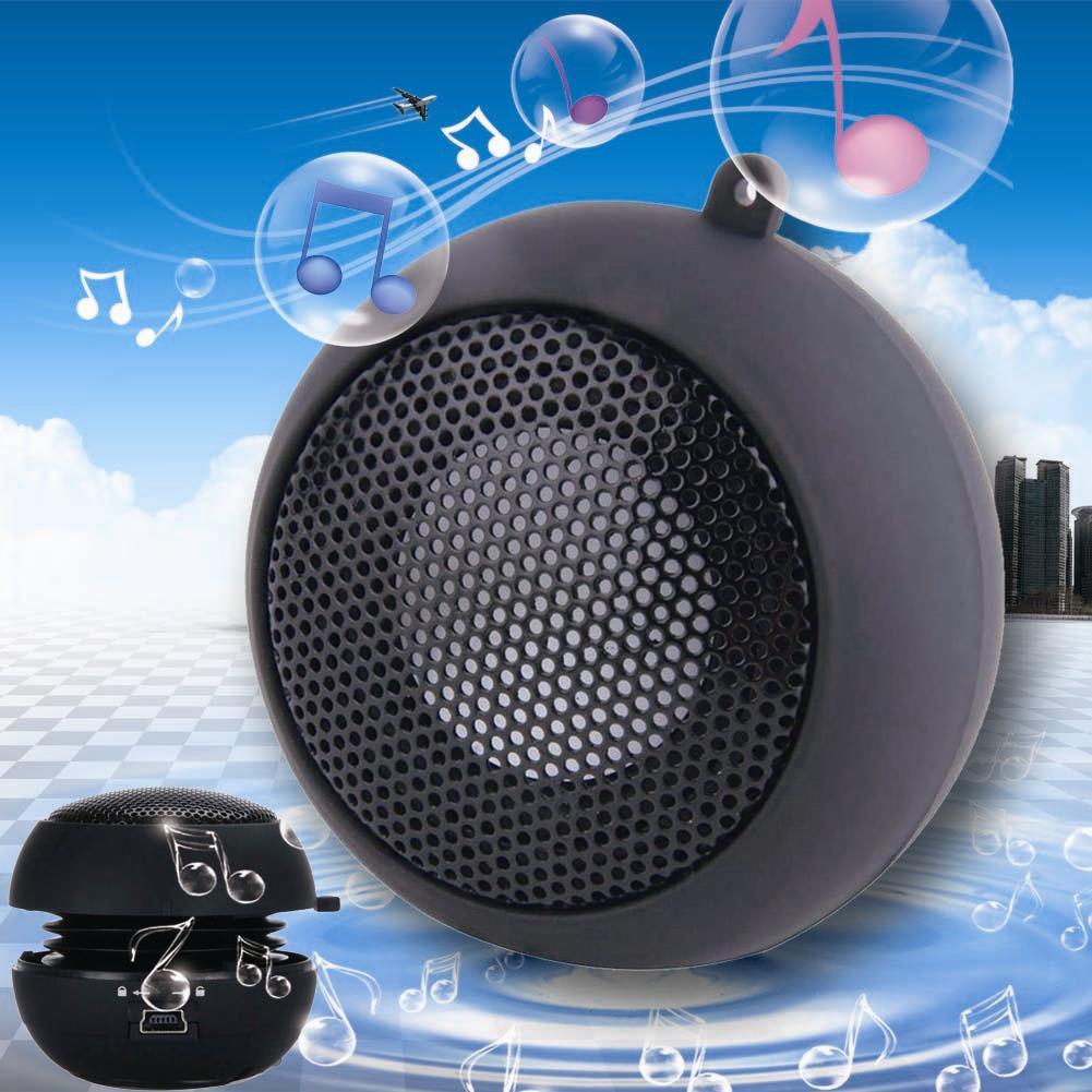 New Mini Speaker Portable Hamburger Speakers For iPod iPhone