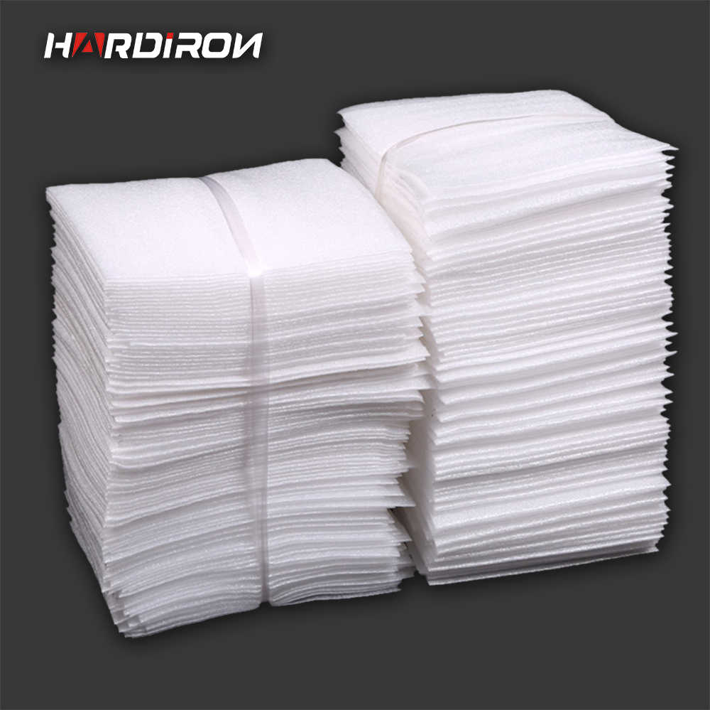 HARDIRON White PEP Packaging Bags Pearl Cotton Padded Ship Pouches Shockproof Package Material Polyethylene Foamed Bags
