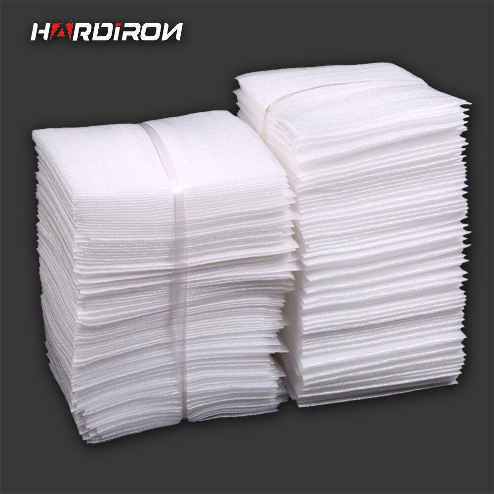 HARDIRON Weiß PEP Verpackung Taschen Perle Baumwolle Padded Schiff Beutel Stoßfest Paket Material Polyethylen Geschäumte Taschen