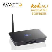 [Auténtica] X92 3 GB/16 GB Amlogic S912 Android 6.0 Smart TV Box Octa Core Kodi 16.1 a Plena Carga, BT4.0, 5G Wifi, 4 K H.265 Decodificador