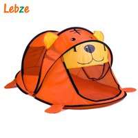 Cartoon Animal Kids Tent Children Kids Indoor Outdoor Play House Folding Tipi Baby Teepees Cute Pattern