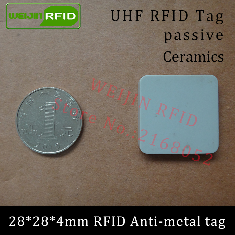 Uhf Rfid Metal Tag 915m 868m Alien Higgs3 Epcc1g2 6c Casting Fixture Tool 28*28*4mm Square Ceramics Smart Card Passive Rfid Tags Back To Search Resultssecurity & Protection