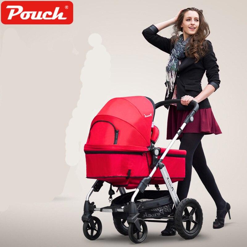 Чехол Детские коляски Высокая Пейзаж тележка может сидеть и лежать