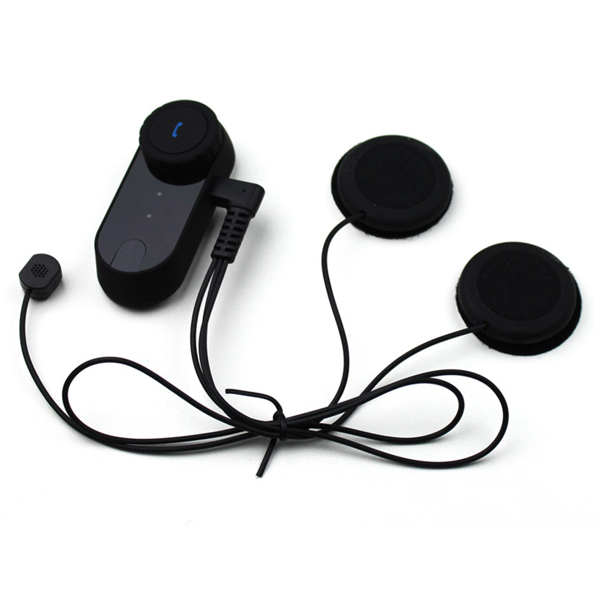 T COMVB bt intercomunicador sem fio fone de ouvido interfone 800 m bluetooth capacete da motocicleta interfone walkie talkie + fm macio - 3