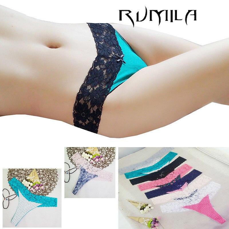 Women G-string Sexy Lace Underwear Ladies Panties Lingerie Bikini Underwear Pants Thong Intimatewear 1pcs/lot Zhx13