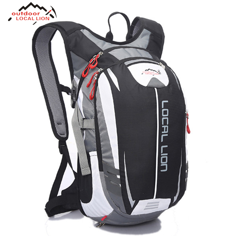 LOCAL LION Bike Bag Outdoor Enquipment 18L Suspension Breathable Panniers Outdoor Backpack Climbing Bicycle Cycling Bike Bag bicycle backpack mtb outdoor enquipment 40 l suspension breathable panniers cycling backpack climbing riding bicycle bike bag