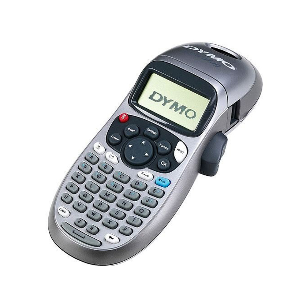 DYMO Handheld Label Maker with 2 Line Printing and 3 Language Option for LT Series Label Tapes 7