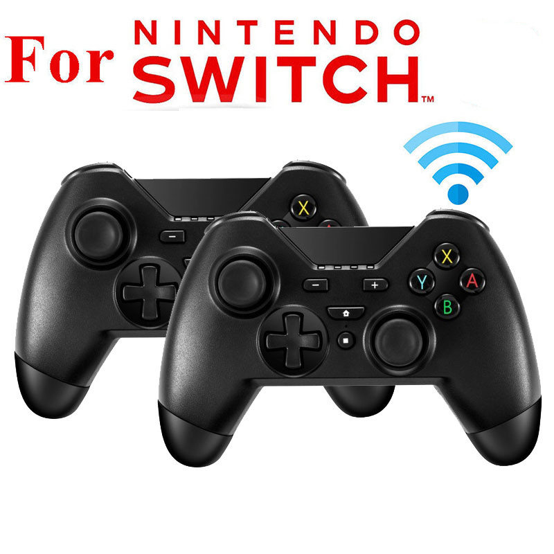 1 Pc/2 Pcs Wireless Gamepad Bluetooth Vibration Joystick Pro Controller for Nintend Switch Console supports gyroscope axis r25