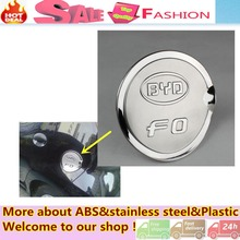 High Quality styling Stainless Steel car accessories Gas/Fuel/Oil Tank Cover Cap for BYD F0 (For all year)
