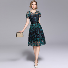 Summer Embroidered ARiby A-Line