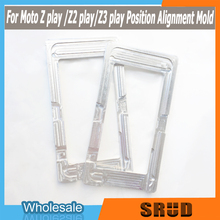 metal mold LCD Outer Glass Lens Display Screen Glue OCA Alignment Mould Mold For motorola Moto Z play /Z2 play/Z3 play сотовый телефон motorola moto z play xt1635 black silver