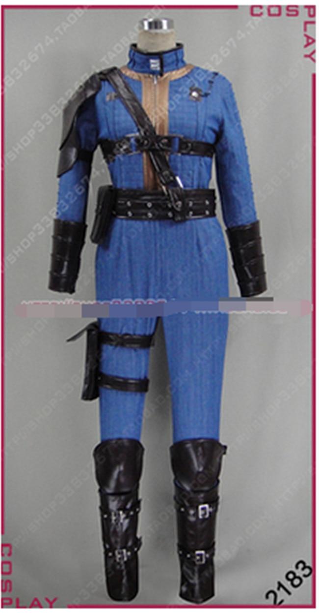 Новый высокое качество индивидуальный заказ Америка игра Fallout 4 единственный выживший Nora Косплэй костюм Любовь Рождество нарядная одежда, Б