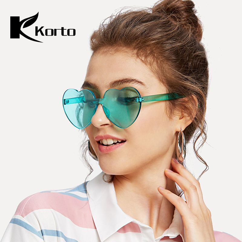 Heart Shaped Woman Sunglasses Rave Party Glasses Zonnebril Dames Fashion Dark Oculos Eyeglasses Women Trending Products 2018