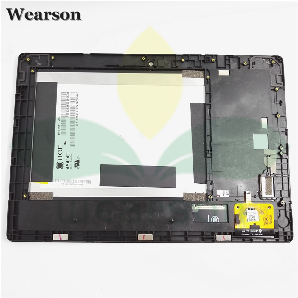 For Lenovo S6000 H S6000H S6000 Touch Screen Digitizer LCD Display With Frame Assembly Free Shipping