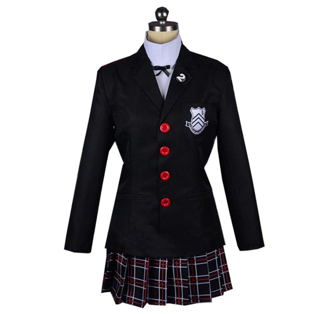 2018 Persona 5 Makoto Nijima Cosplay Costumes Women School Uniform 2018 persona 5 makoto nijima cosplay costumes women school uniform