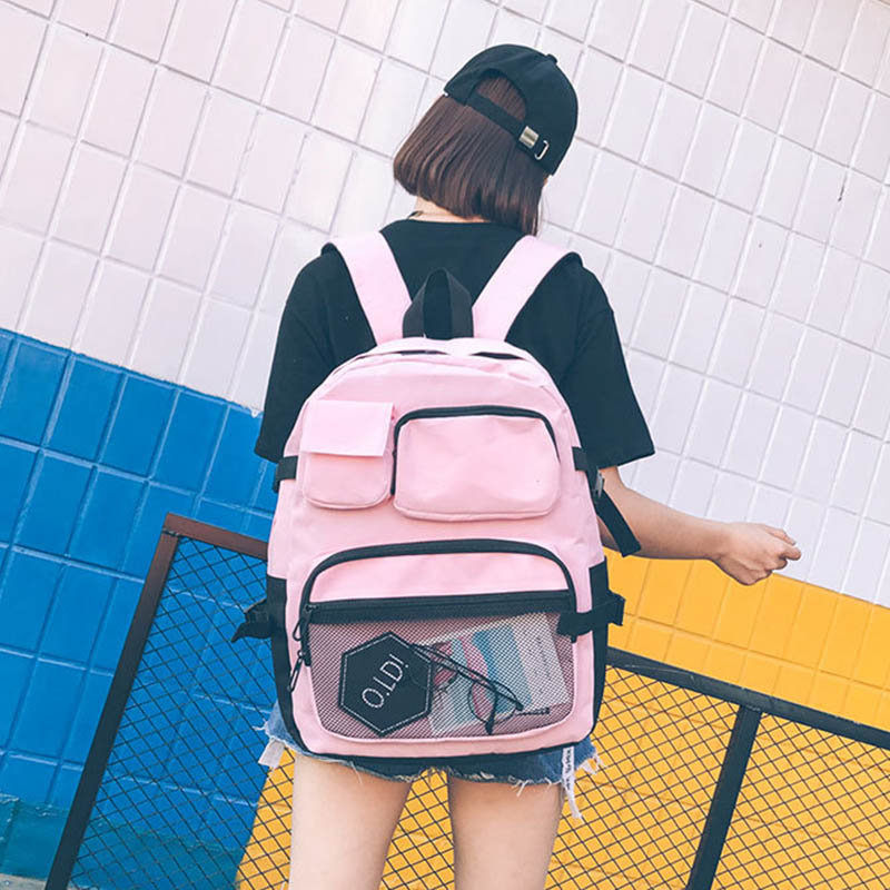 Women Backpacks Rucksack Travel-Bag Teenage Large-Capacity Female Girls Unisex Fashion