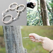Nieuwe Magic Rvs Camping Mes Emergency Survival Gear Steel Wire Saw Wandelen Jacht Klimmen Gear(China)