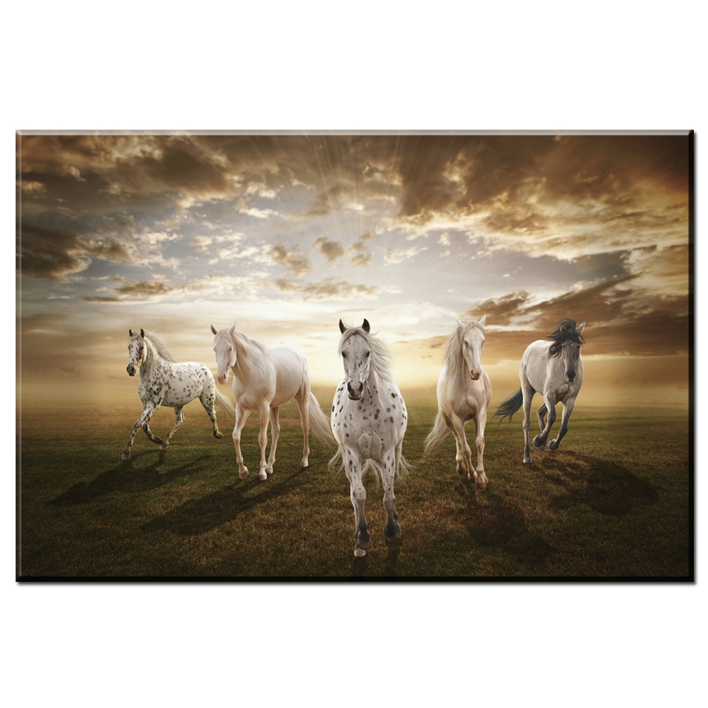Xdr297 Tier Malerei Pferde Rahmen Leinwand Bild Melamin Schwamm Bord ...