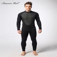 3mm Neoprene Scuba Dive Wetsuit For Men Spearfishing Wet Suit Surf Diving Equipment Split Suits Spear Fishing S XXL 258T