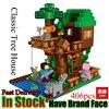 LEPIN Minecraft Classic Tree House My World Model Figures Building Blocks Bricks Kids LegoING Educational Toys