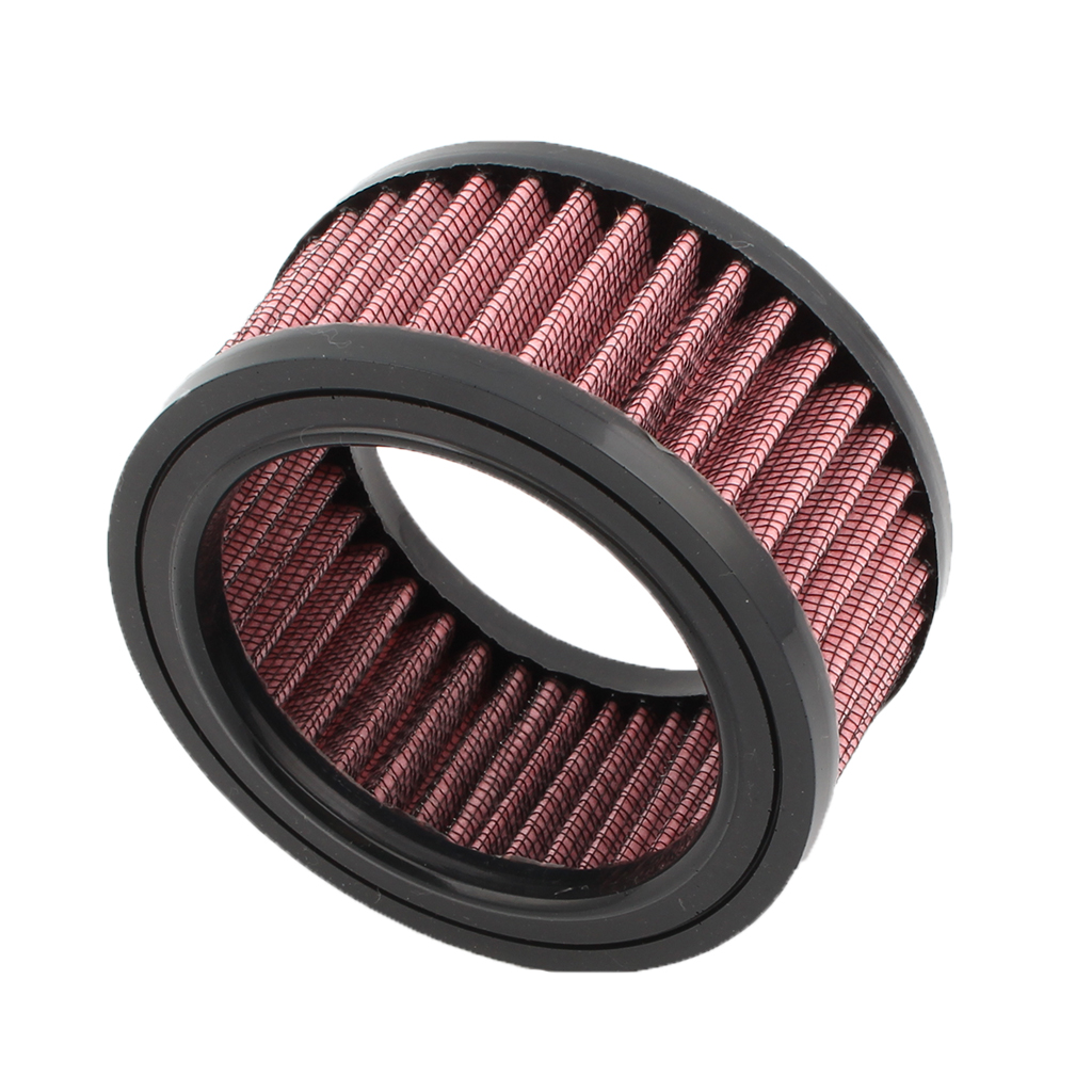 "Image 1 - 1 Pcs Universal Motorcycle Air Filter 4""  Air Intake Filter For Harley Sportster XL883 XL1200 X48 Etc Motorbike Accessories-in Air Filters from Automobiles & Motorcycles"
