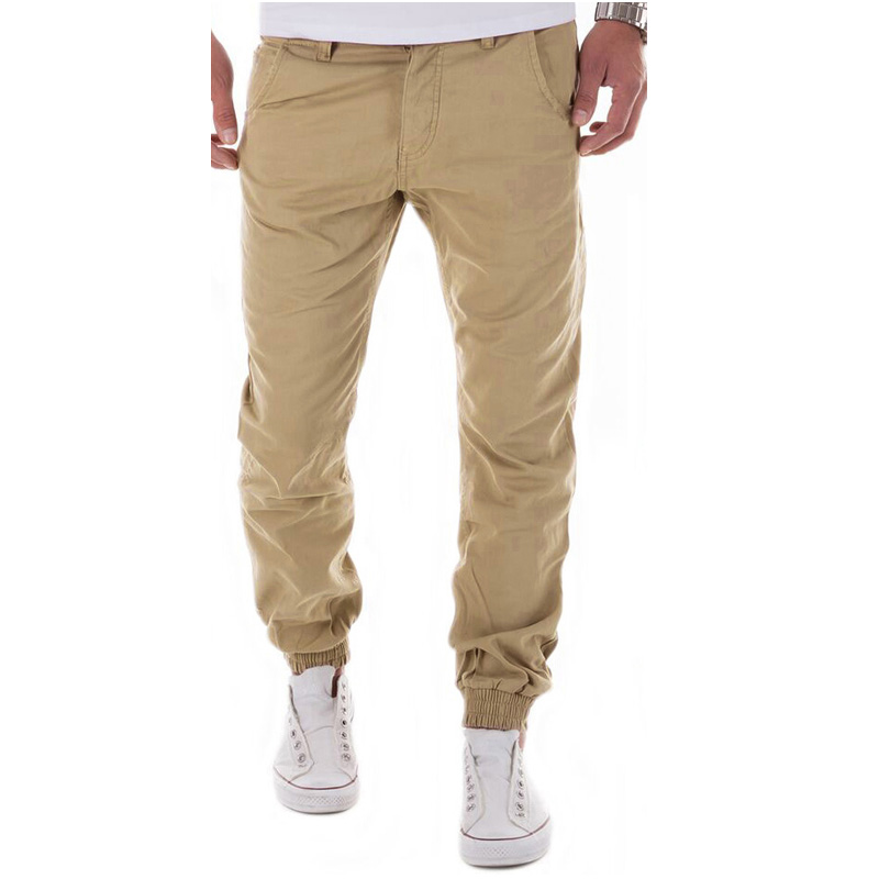 Pants Men  Casual Pants Men Brand Clothing High Quality Spring Long Khaki Pants Elastic Male Trousers For Men Joggers