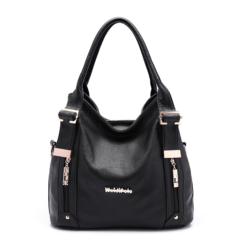 ФОТО 2015 Quality PU Leather Bag Women's Shoulder Bags Famous Brand Women Leather Handbags Stylish Purse for Woman XB115