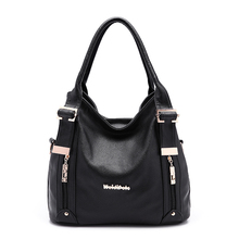 2015 Quality PU Leather Bag Women's Shoulder Bags Famous Brand Women Leather Handbags Stylish Purse for Woman XB115