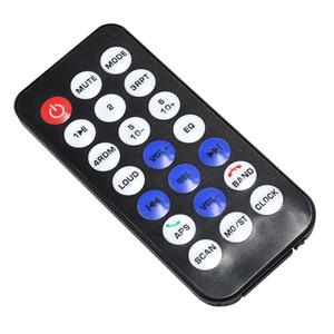 Image 4 - 1 unidad de autorradio estéreo Bluetooth para coche 1 din 60Wx4 admite llamadas manos libres, receptor de Radio para coche, reproductor MP3/USB/tarjeta SD/AUX/Radio FM