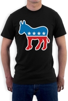 Fashion T Shirt Gildan Brand Democrat Donkey Logo Democrats Party Symbol Election T Shirt Usa Vote