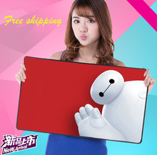 2016 New Comic Lovely Cartoon Originality Rubber Speed Game Keyboard Mouse Pad Thickening Super large Size