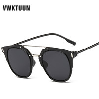 VWKTUUN New Women Sunglasses Brand Fashion Luxury Top Grade Men Sun Glasses Oculos De Sol Feminino UV400 Eyeglass Sunglasses