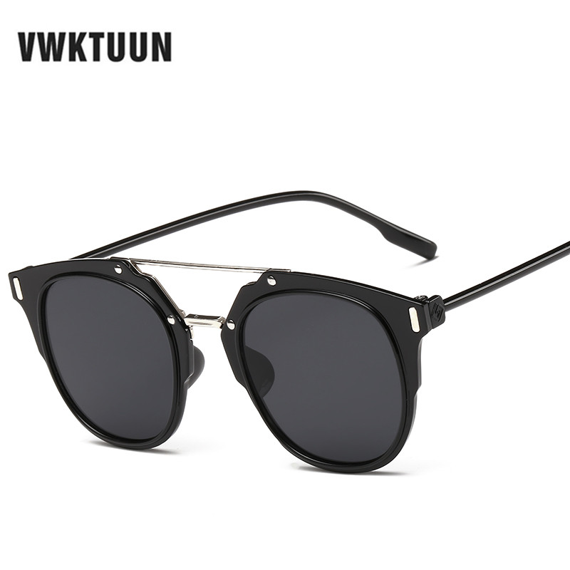 VWKTUUN New Women Sunglasses Brand Fashion Luxury Top Grade Men Sun Glasses Oculos De Sol Feminino UV400 Eyeglass Sunglasses