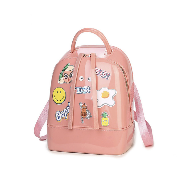 0cf465ba4e Jelly Transparent Backpack
