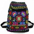 Hmong Tribal Do Vintage Thai Indiano Étnico Bordado saco étnica Boho hippie Boho Boêmio mochila mochila tamanho do saco L SYS-170