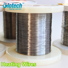 Glotech 20M/0.6mm e cigarette RDA heating wires Cr20Ni80 Pre-built coils Heating Coil Wires for RDA RBA Atomizers