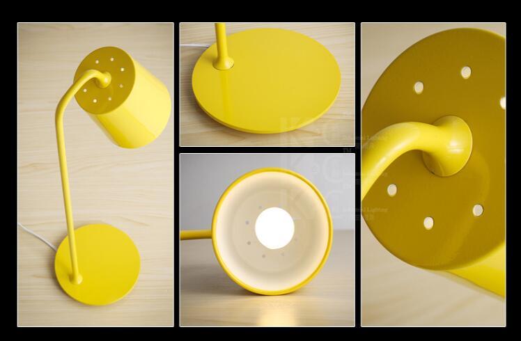 Nordic moderne einfache Schreibtisch Lampen eisen auge studie lesen arbeit LED tischlampe kreative persönlichkeit schreibtisch lichter FG296 - 2